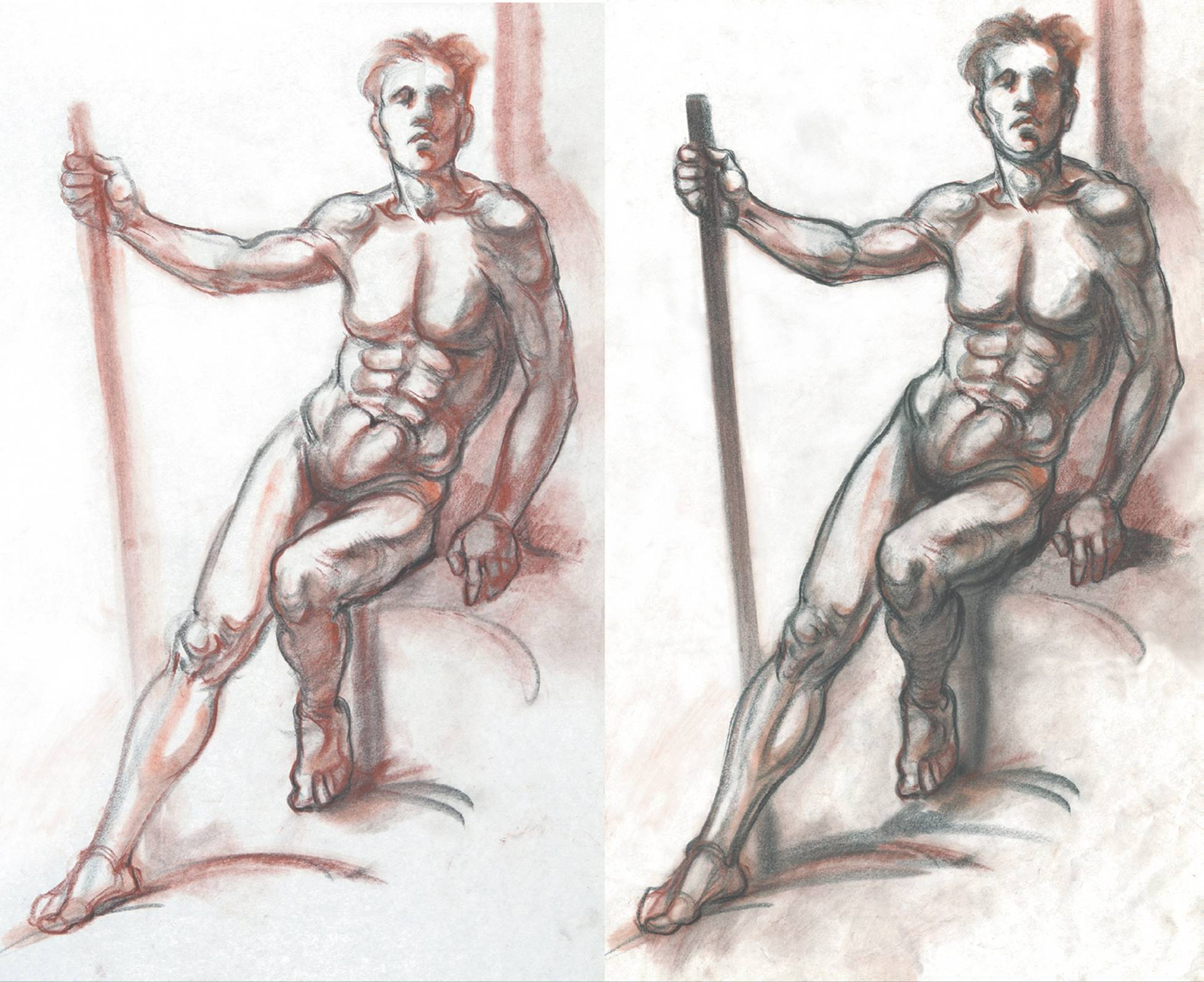 Gesture and Action Drawing - Classic Human Anatomy in Motion: The