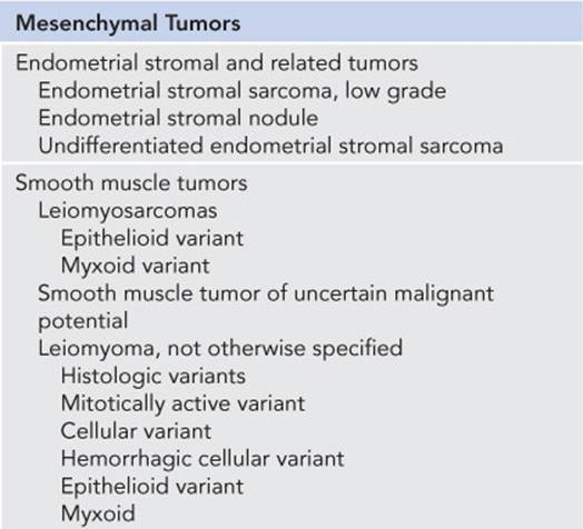Uterine Sarcomas - Gynecologic Oncology: Clinical Practice