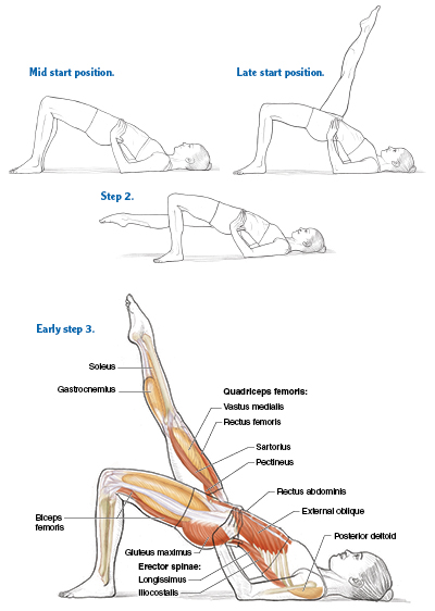 Bridging For A Functional Spine Pilates Anatomy